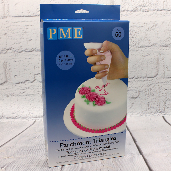 PME Parchment Triangles (50Pc.)
