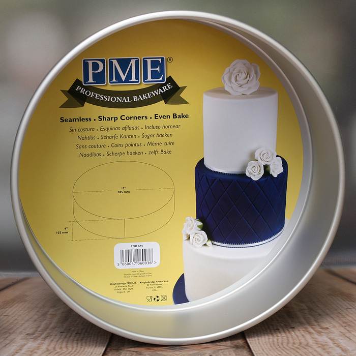 Round Aluminium Seamless Tin By PME