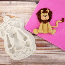 Katy Sue Lion Silicone Mould (Sugar Buttons Range)