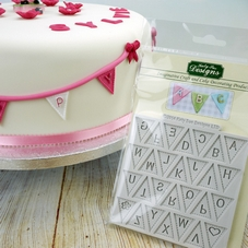 Katy Sue Alphabet Bunting Design Mat