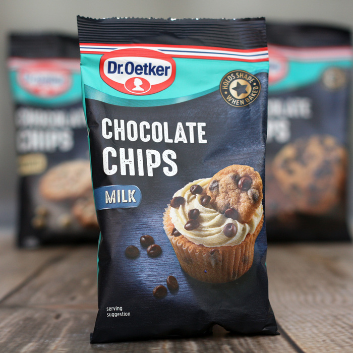 Dr.Oetker MILK CHOCOLATE CHIPS (100g Bag)