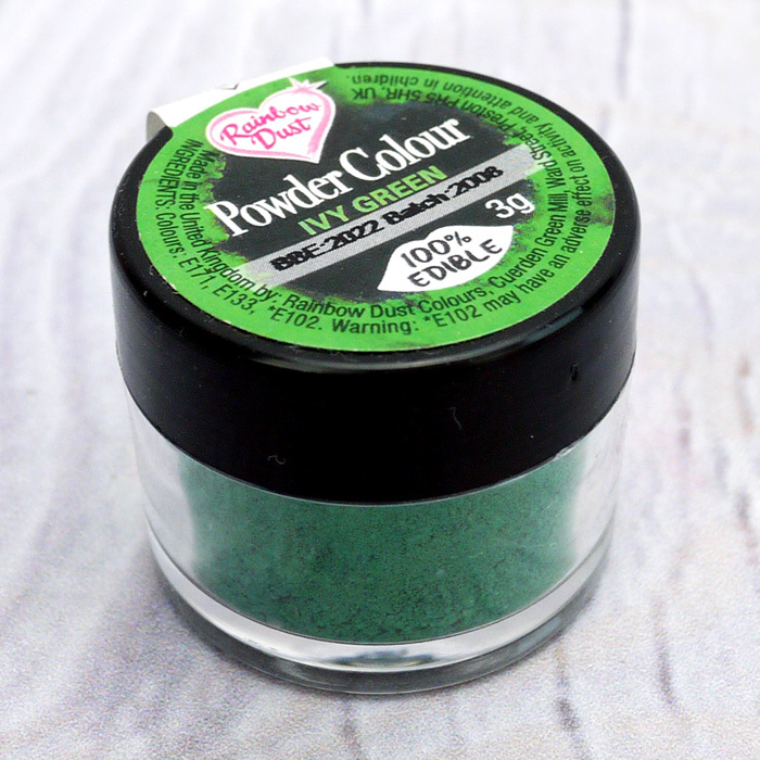 Rainbow Dust Ivy Green Powder Colour
