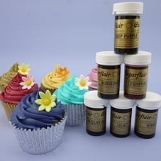Set Of 6 New Sugarflair Paste Colours