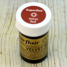 Sugarflair Velvet Red Food Colouring