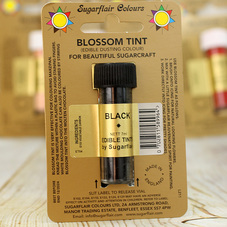 Black Sugarflair Edible Blossom Tint Dusting Colour
