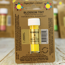 Sugarflair Edible Blossom Tint Dusting Colour In Primrose