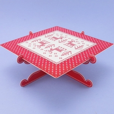 Christmas Cross Stitch Mince Pie Stand