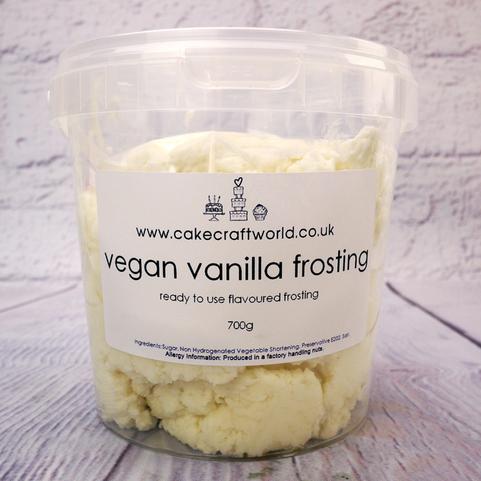 700g Tub Of Vegan Vanilla Frosting