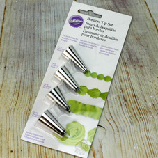 Wilton Borders Tip Set (Carded Pack Of 4 Tubes)
