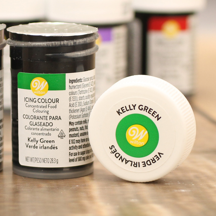 Wilton Kelly Green Food Colouring