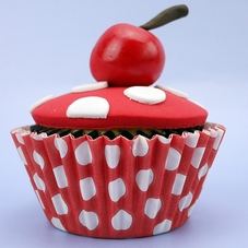 Pack Of 54 Red With White Spots Baking Cases - image 2