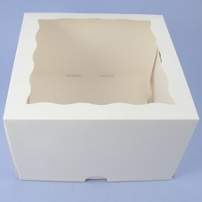 8 Inch White Window Box - image 2