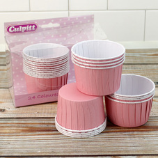 Pack Of 24 Pink Baking Cups & 1k Pack Of Madeira Cake Mix - image 2