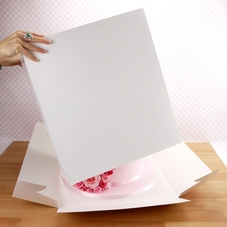 16 Inch White Cake Box With 16 x 16 x 18 Inch Extender - image 2