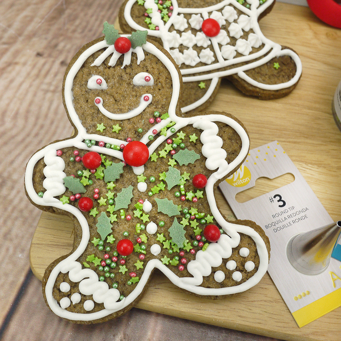 Gingerbread Man Cookie Baking Box + Instructions - image 2