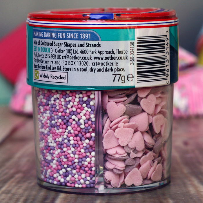 Dr.Oetker FAIRY MIX (4 Cell Sprinkles Tub) - image 3