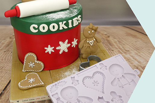 How To Make A Christmas Cookie Jar Cake
