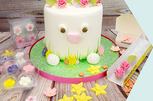 How To Make A Cute Easter Bunny Cake