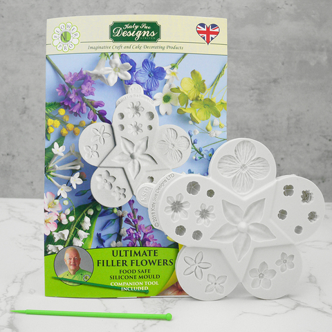 Katy Sue 'Ultimate Filler Flowers' Silicone Mould